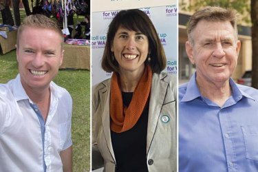 Albert Jacob is back as Joondalup Mayor, Hannah Fitzhardinge replaces Brad Pettitt at the top in Fremantle, and inaugural West Coast Eagles coach Ron Alexander joins Vincent as a councillor after Saturday's local government elections.