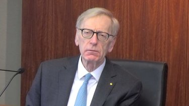 Commissioner Kenneth Hayne.