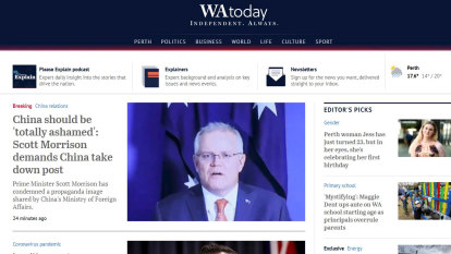 Welcome to a new look for the top of WAtoday online