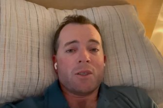 NSW MP Adam Marshall caught COVID-19 last month.