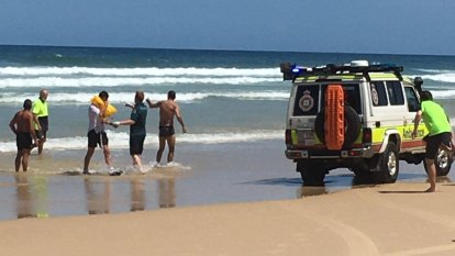 Men swim to shore after plane crashes into sea off Fraser Island