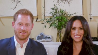Prince Harry and Meghan announce partnership with food charity