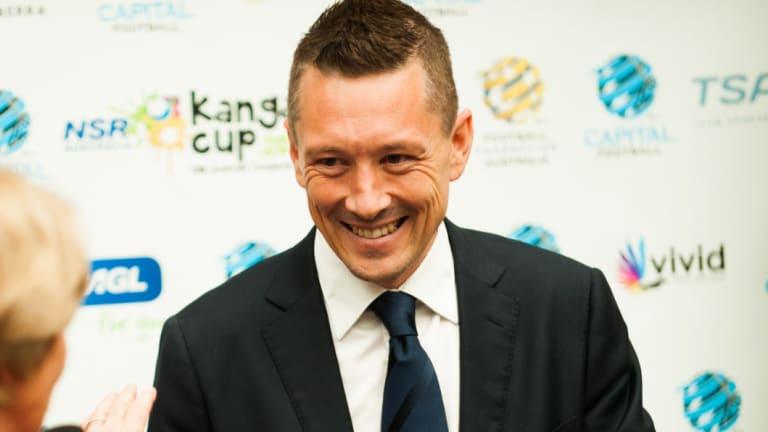 Capital Football boss Phil Brown.
