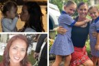 Domestic violence victims who had turned to the law seeking protection before being murdered Gold Coast mother Tara Brown (top left), Hannah Clarke with daughters Aaliyah, Laianah (right) and Fabiana Palhares (bottom right).