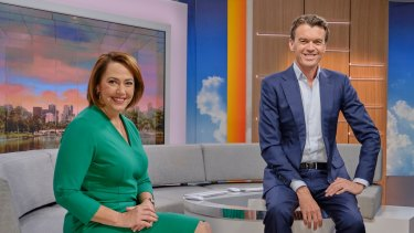 ABC News Breakfast hosts Lisa Millar and Michael Rowland have lifted the program's viewership.