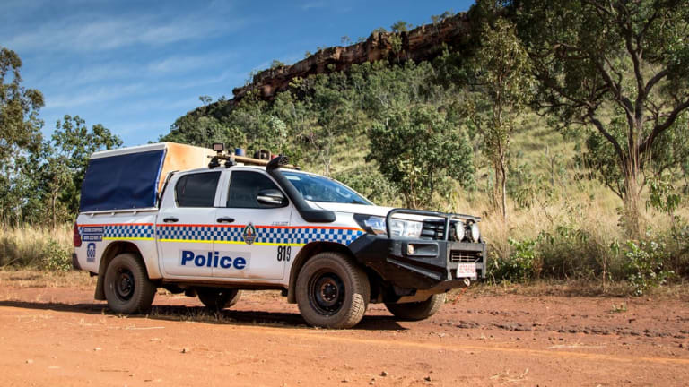 NT police are using drones to help find the missing tourist.