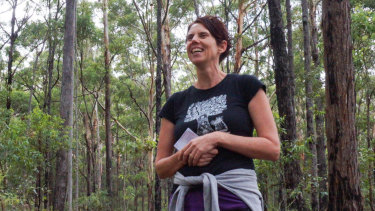 Lucy Van Sambeek says nature therapy is often described as meditation on feet.