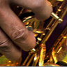 The man who became a saxophone