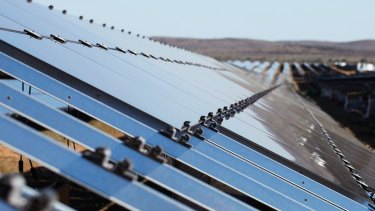 The new solar farm will produce enough energy for a city of one million people.