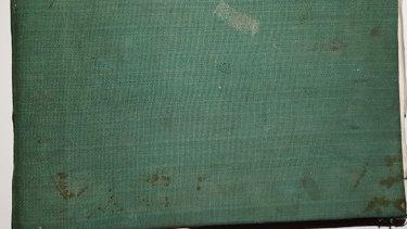 The cloth-bound book.