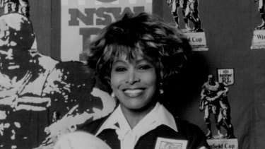 Simply the best: Tina Turner's signature tune is again league's official anthem.
