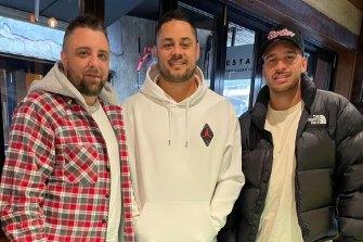 Daniel Son, Jarryd Hayne and Corey Norman.
