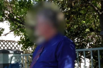 The 47-year-old maths teacher was arrested on the street on Monday.