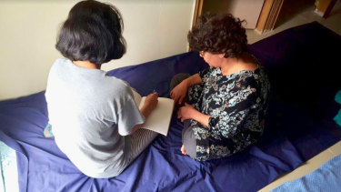 Hajar and Malikeh write letters seeking their release.