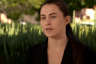 Keana Ball has shared her story in an effort to help others in similar situations. Picture: Nine News Perth