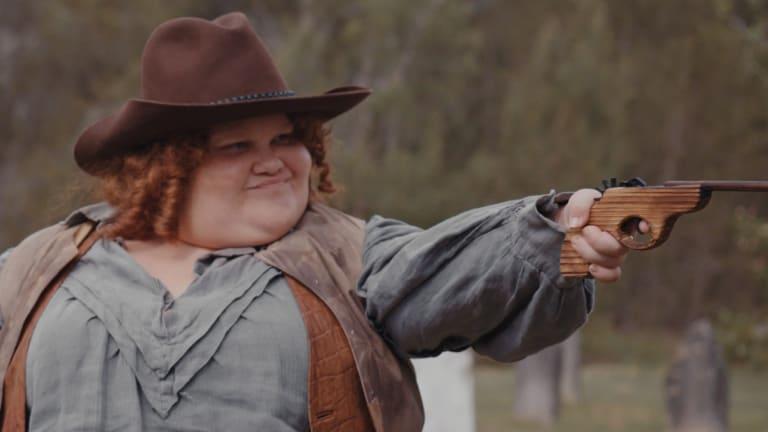 Megan Wilding as Mary Ann Bugg in Sheilas.