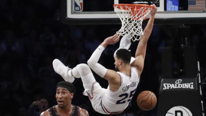 Booed by his own fans, taunted in New York, Ben Simmons had to respond