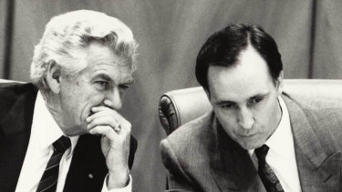 Bob Hawke and Paul Keating, who supported blue-collar workers but also aspiration.
