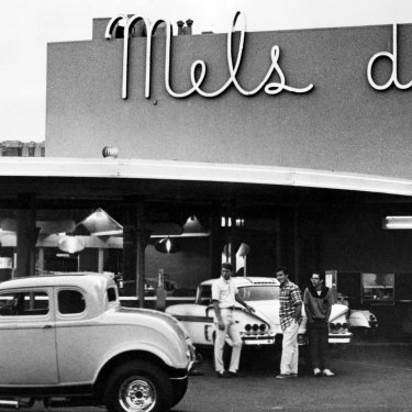 American Graffiti was set in the outwardly more innocent period before the tumultuous 1960s.