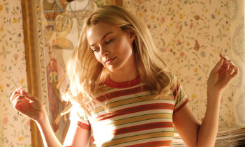 Margot Robbie as Sharon Tate in Once Upon a Time in Hollywood.