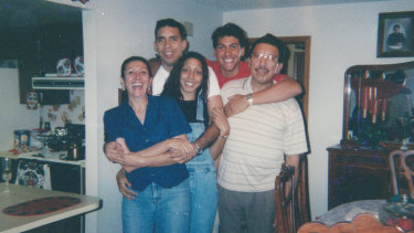 Rey Rivera, pictured here with his family, is the focus of episode one of Unsolved Mysteries.