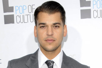 Rob Kardashian, pictured here in 2012, was noticeably absent from the reunion special.