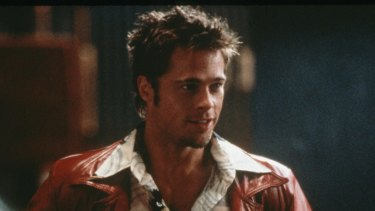 Brad Pitt as Tyler Durden in the 1999 cult classic Fight Club.