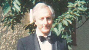 Roger Covell at the Bayreuth Festival, a major international festival devoted to Wagner.