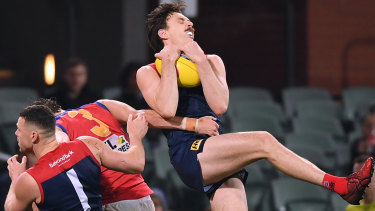 Countering Jake Lever will be vital for the Bulldogs.