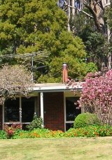 The Gippsland house where Professor Chris Browne keeps some of his collection.