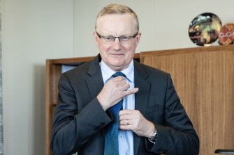 Reserve Bank governor Philip Lowe is expecting a period of low inflation following recent volatility.
