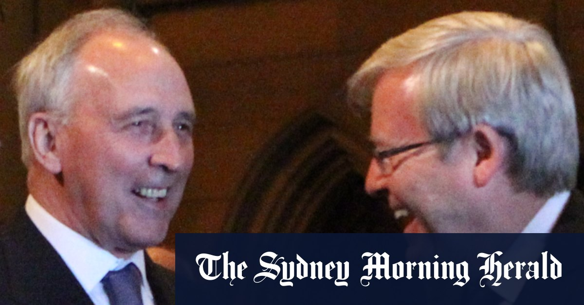 Keating Rudd warn government seeking to destroy superannuation – Sydney Morning Herald
