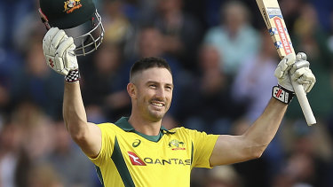 Down but not out: Shaun Marsh hurt his shoulder playing for Glamorgan, but should be back for Australia's next tour.