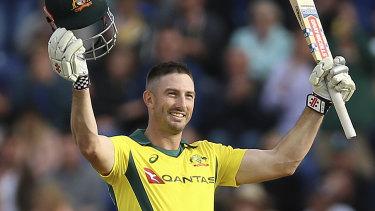 Shoulder problem: Batsman Shaun Marsh is a key weapon for Australia's coming Test tour.