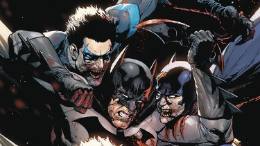 One of Taylor's recent storylines saw Batman killed off.