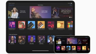 Garageband lets you break down popular songs to see how they work, or build your own.