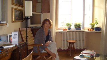 Hilary McPhee when she lived in Cortona.