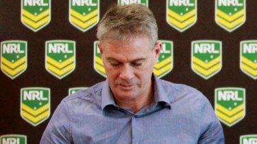 NRL education and welfare manager Paul Heptonstall.