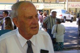 Ron Webster.