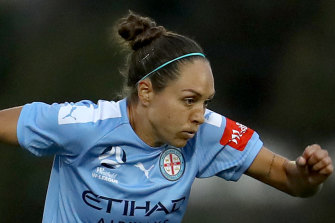 Kyah Simon's early strike was the difference in Melbourne City's win over Adelaide United.