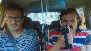 New Zealand journalist David Farrier in Dark Tourist.