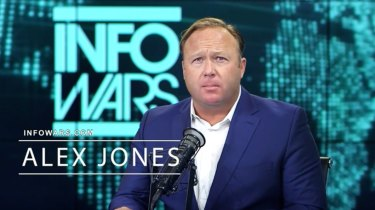 Conspiracy theorist Alex Jones has been yanked off reputable host sites.