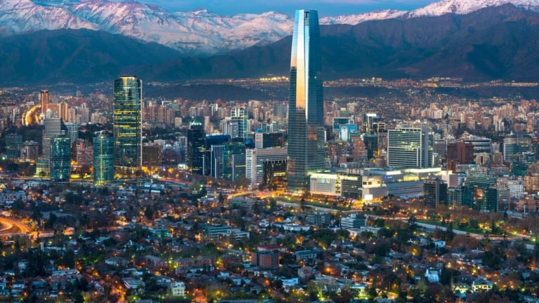 Sprawling Santiago, the capital of Chile, will become an electric vehicle hub under new government plans.