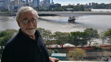 David Russell and other local residents have protested the removal of threes to build the bikeway for seven months.