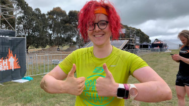 I survived! And so did all the wearables.