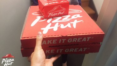 Mr Vijan was in Australia on his wife's student visa and they both depended on the income from Pizza Hut.