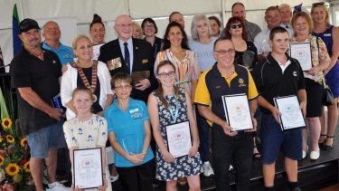 Hawkesbury City Council decided to move its Australia Day citizenship ceremony to January 25 because last year's event (pictured) got too hot.