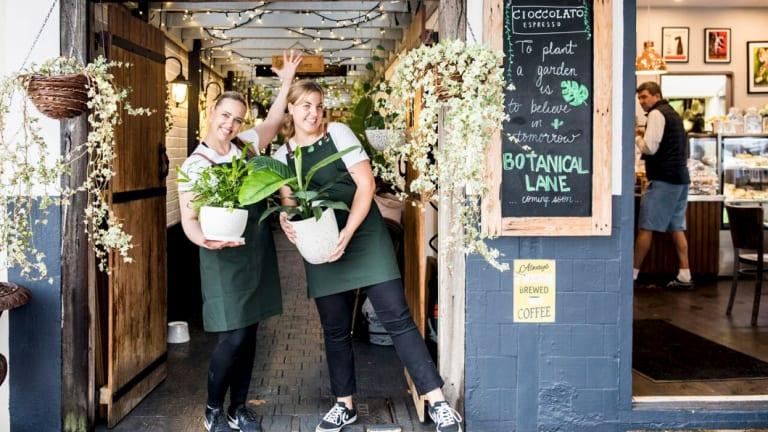 Botanical Lane opens in Applecross outside Cioccolato Espresso.