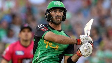 Key player: Glenn Maxwell of the Melbourne Stars.