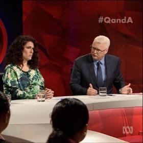 The ghost of Kelly O'Dwyer haunts the Q&A panel